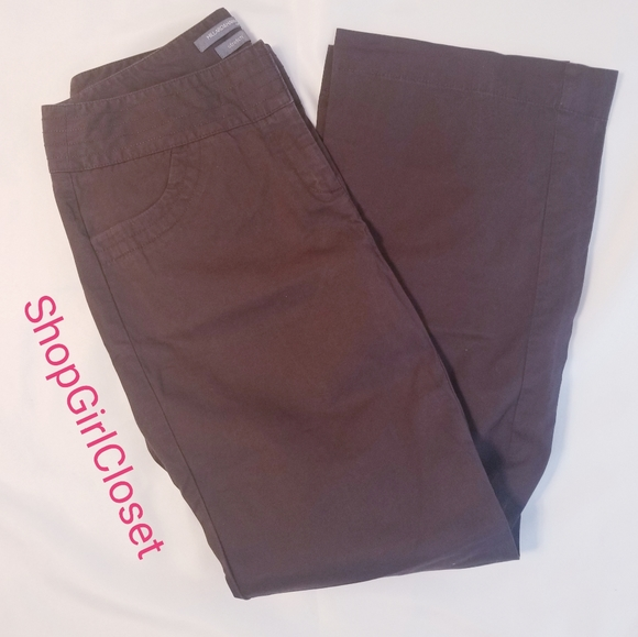 Hillard & Hanson Pants...Brown...Sz 10